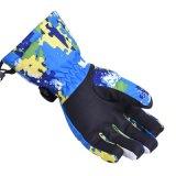 スキースノーボードの冬の手袋の防風の防水男女兼用の雪の手袋