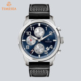 Lie Fashion Steel Chronograph Watch Quartz Brand Sport Watches 72689