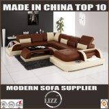 Grande mobilia del cuoio del salone di formato della Germania