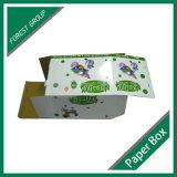 Foldable光沢のある板紙箱を製造するカスタム設計する