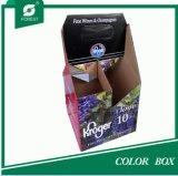 색깔 주문 서류상 포도주 포장 상자 인쇄