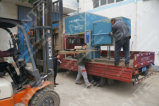 horno de elevación de alta temperatura de gran capacidad 1200liters para el tratamiento termal