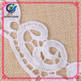 White Collar Lace Crochet Embroidered Chemical Neck Patch