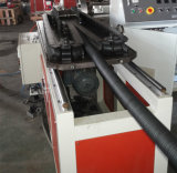 工場販売法PP/PE/PVCは壁によって波形を付けられる管の放出ラインを選抜する