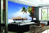 景色の景色のホーム装飾または壁の芸術のための海岸の紫外線印刷された絵画