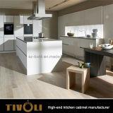 보통 백색 새로운 부엌은 부엌 찬장 Tivo-0057V를 디자인한다