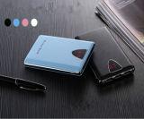 Côté portatif de pouvoir de charge rapide de Qualcomm avec le chargeur de téléphone de torche de DEL