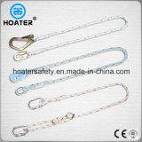 Seil-/der Material-Form-1.5-2m Sicherheitsgurt-Abzuglinien mit Stoßdämpfer