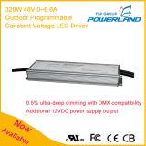 driver costante programmabile esterno di tensione LED di 320W 48V 0~6.6A