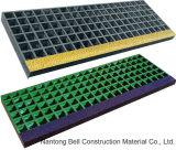escalera industrial antirresbaladiza de alta resistencia Nosings de FRP/GRP para las rejas