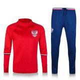 AAAのブラジルパリの国民およびクラブチームのためのタイの品質のフットボールのトレーニングジャージー