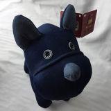 綿織物犬のジーンの柔らかいおもちゃ