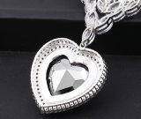 Coração grande luxuoso de 43187 formas da colar do oceano para o casamento ou o partido