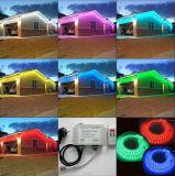 ETL 110V/120V/220V 60LED/M im Freien Cuttable RGB LED Flexstreifen-Beleuchtung