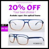 Frame ótico dos vidros do frame dos vidros do acetato de Eyewear do modelo novo