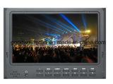 """7 """" monitor video del LCD de la cámara de 1080p HDMI HD DSLR con enarbolar el foco para la cámara de Canon 5D II"""