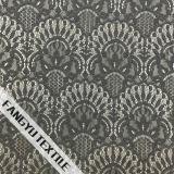 Tessuto di nylon del merletto del ventilatore del cotone nobile di disegno