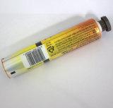 Câmara de ar laminada alumínio de empacotamento da câmara de ar do dentífrico com tampão do hexágono