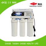 Purificador manual del agua del sistema doméstico del RO que vacia
