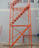 Marco de /Stair del marco de puerta/andamio del marco que recorre