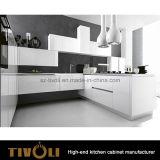 アパートのプロジェクトTivo-0082Vのための2017の最もよい台所デザイン考えの白い食器棚