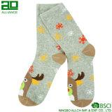 Il cervo del fornitore della Cina scherza i calzini di natale del reticolo delle donne