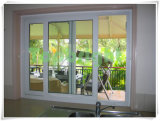 Topbright Nuevo Vinil UPVC ventana corrediza con vidrio se refleja