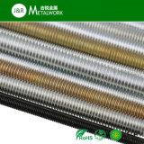 Galvanisiertes verzinktes kohlenstoffarmer Stahl-Gewinde Rod verlegter Rod