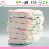 Couches-culottes 100% remplaçables de bébé de coton avec la bande élastique de taille