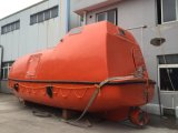 Bote salvavidas completamente incluido aprobado del vidrio de fibra de CCS/Solas GRP