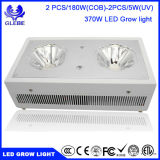 COB LED Grow Light Certificado ETL de Espectro Completo para plantas de hidropônico Indoor Growing, 370W True Watt LED Light