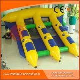 Шлюпка рыб летания игрушки Towable пробки раздувная для игры спортов воды взрослых (T12-404)