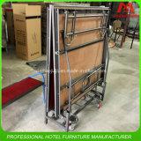 イベントのための携帯用折る鋼鉄移動式段階の合板のプラットホーム