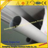 Profil rond personnalisé de tube de Suqare de profil du tube 6063 T5
