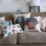 Sofá decorativo de lino de las almohadillas del algodón suave del precio bajo
