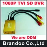автомобиль DVR 1CH 1080P Tvi SD, с широкой силой 5V-30V