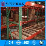 Q235B Q345b materielle USA Marktteardrop-Lager-Metallspeicher-Ladeplatten-Zahnstange