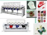 4 Köpfe Melco Stickerei-Maschine mit Schutzkappen-Shirt-flacher Stickerei 3 Funktionen