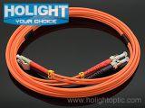 Шнур заплаты LC волокна к St двухшпиндельный помеец Om1 или Om2 mm