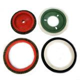 Cepillo de Stenter de las materias textiles de la función de la limpieza con la cerda natural para la venta