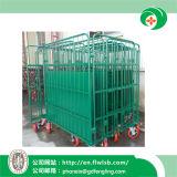 Горяч-Продавать складывая ручную тележку металла для хранения пакгауза с Ce