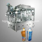 Energie-Getränk-Getränkefüllende und mit einer Kappe bedeckende Maschine für flüssigen Beutel