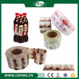 Напечатанный мнущий ярлык втулки PVC для крышки бутылки