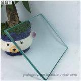 vidro Tempered desobstruído de 10mm (vidro de segurança)