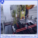 Imprensa de perfurador inoxidável de venda quente do CNC da plataforma da placa de aço do anel Closing