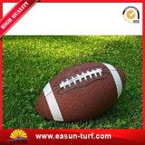 Hierba artificial sintetizada barata del jardín del campo de fútbol del campo de fútbol