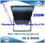 O tipo o mais novo garantia de Yaye 18 do Sell da parte superior 3 de 160With200W do diodo emissor de luz de inundação da luz anos de projector de /LED com Ce/RoHS