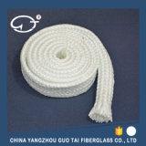 La funda de la fibra de vidrio de la alta calidad tejió por el hilado abultado