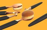 Косметики щетки 6PCS состава Shapped пчелы овальные установленные вспомогательные
