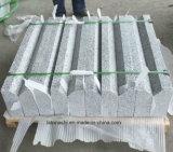 Paracarro fiammeggiato grigio del granito della fabbrica per esterno